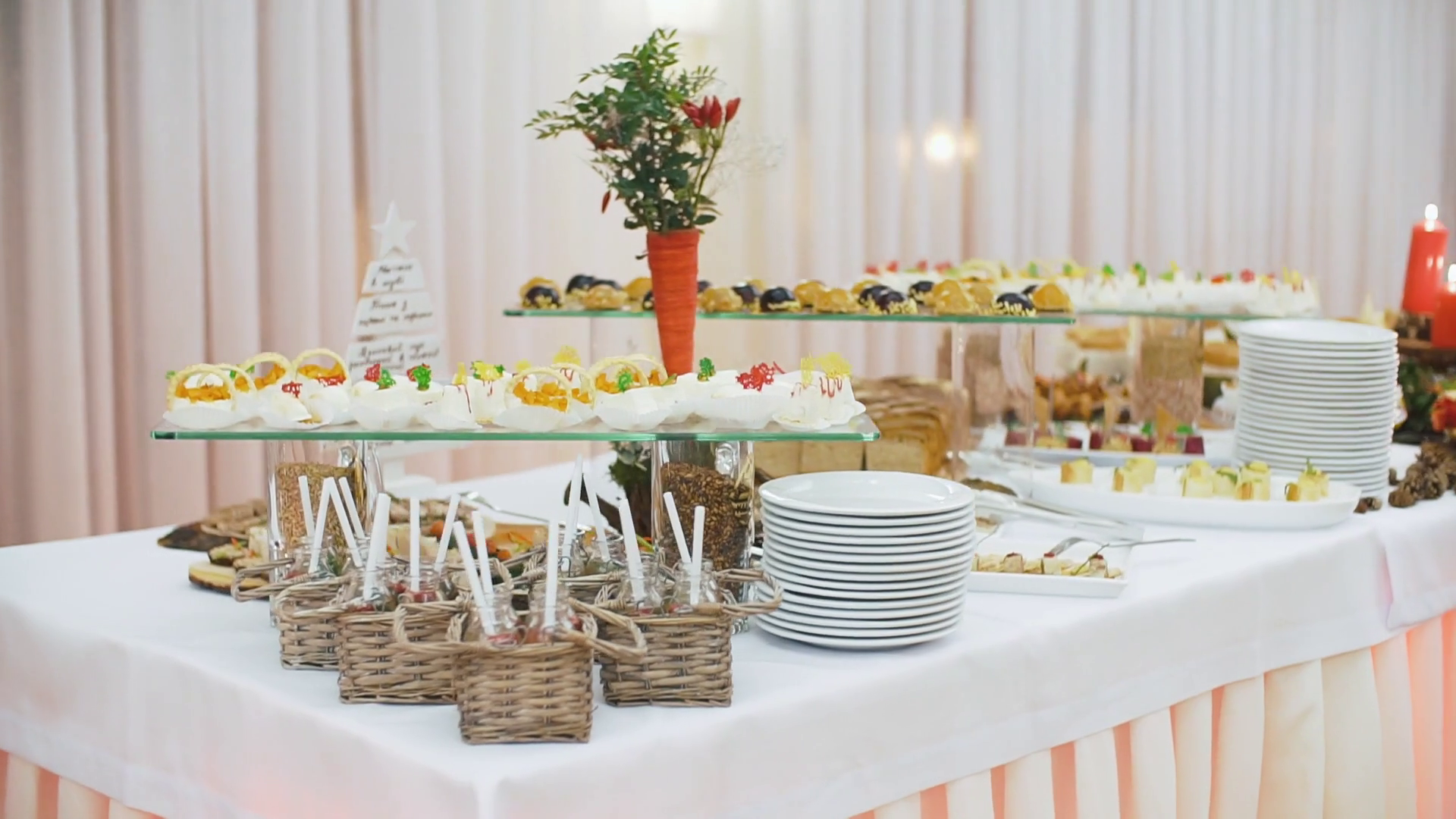 beautifully-decorated-catering-banquet-table-with-different-food-snacks-and-appetizers-on ...